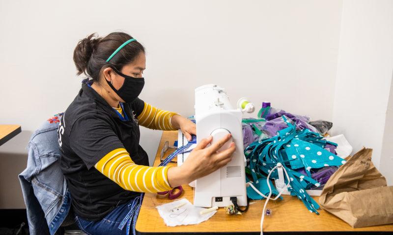 Non Medical Facial Coverings - Sewing